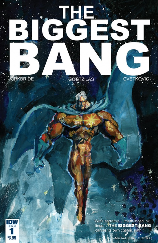 The Biggest Bang Portada principal de Vassilis Gogtzillas